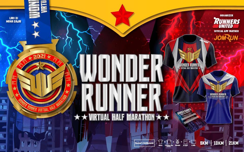 Wonder Runner Virtual Half Marathon - Indonesia