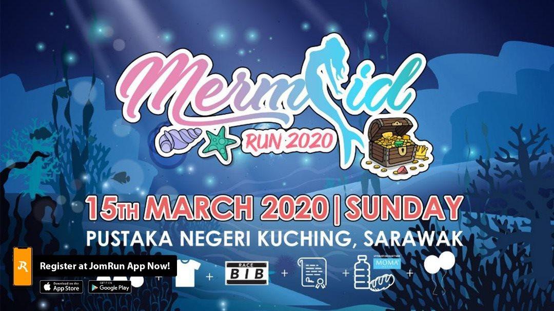 Mermaid Run 2020 - Kuching