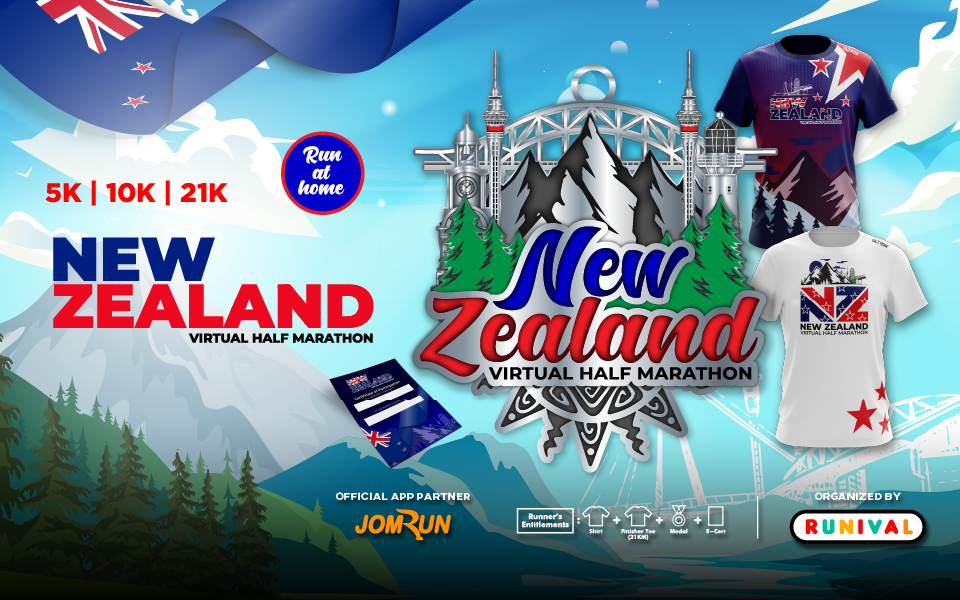 New Zealand Virtual Half Marathon
