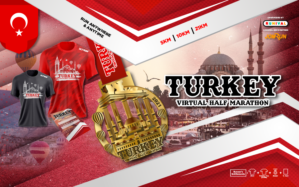 Turkey Virtual Half Marathon