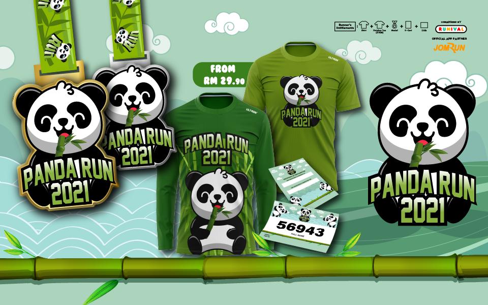 Panda Virtual Run 2021