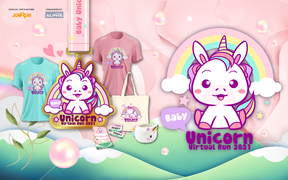 Baby Unicorn Virtual Run 2021