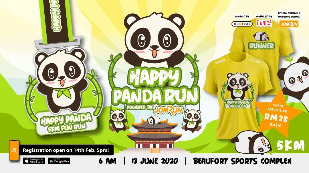 Beaufort Happy Panda 5KM Fun Run 2021