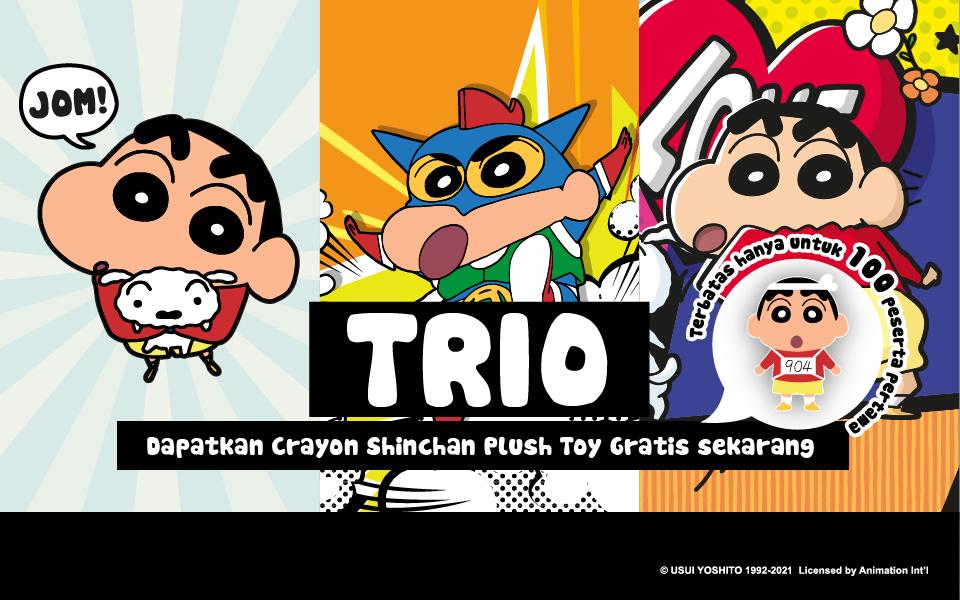 Crayon Shinchan Virtual Run Full Series - Indonesia