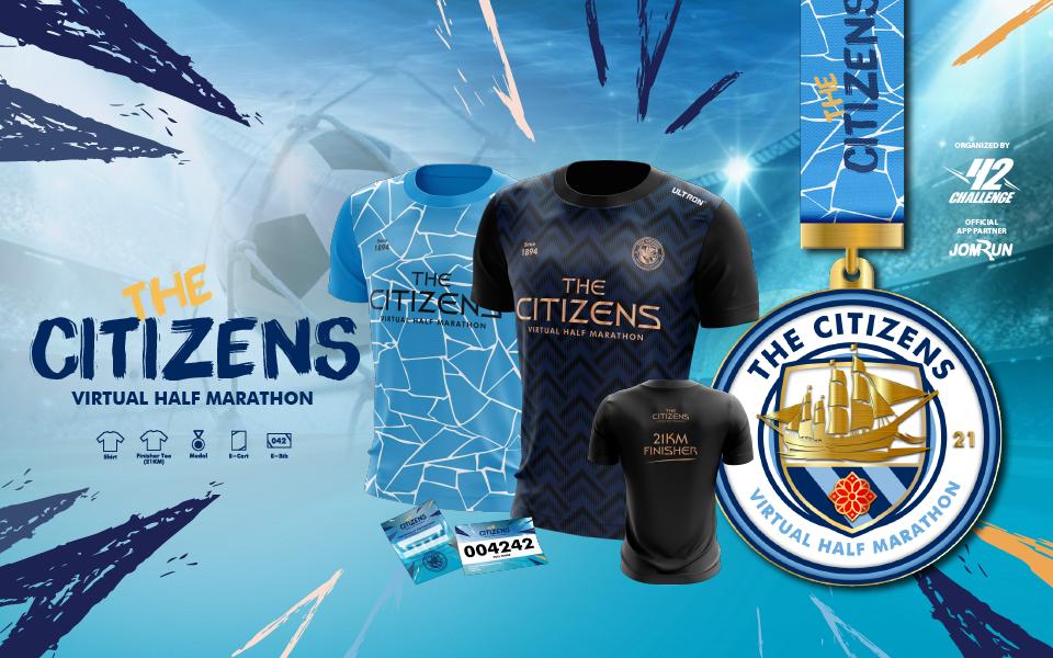 The Citizens Virtual Half Marathon