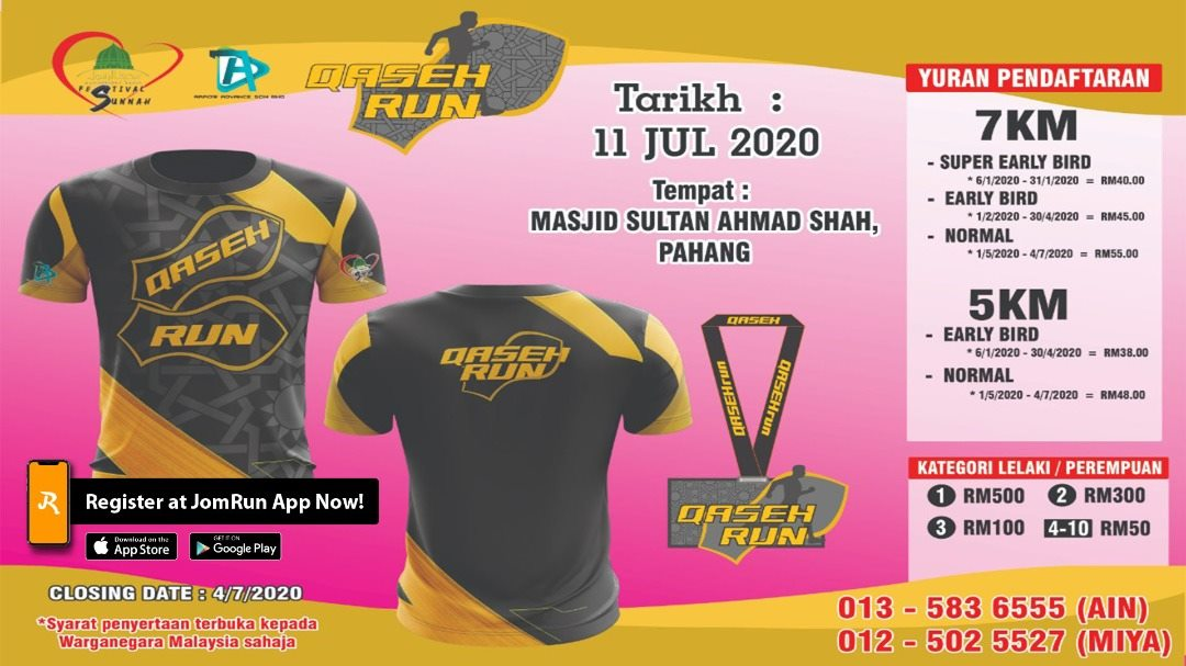 PAHANG QASEH RUN TOUR 2020