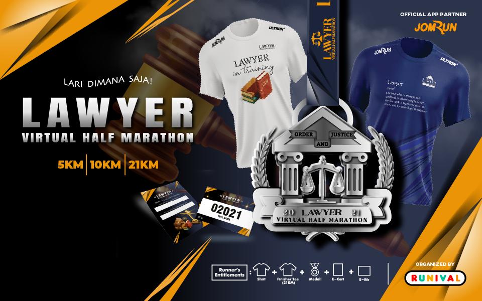 Lawyer Virtual Half Marathon - Indonesia