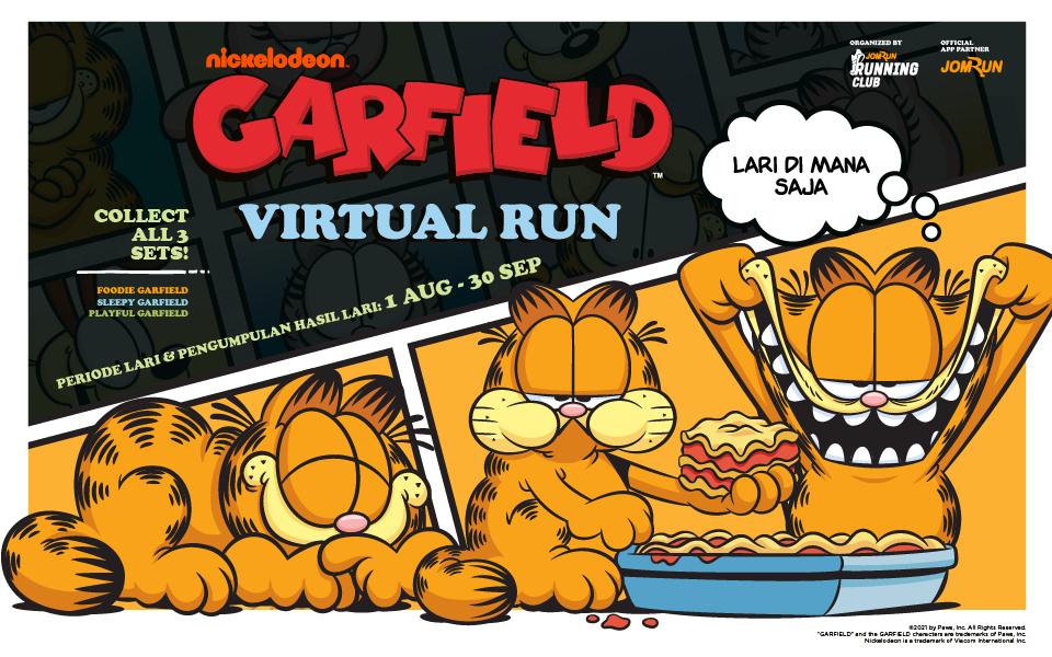 Garfield Virtual Run - Indonesia