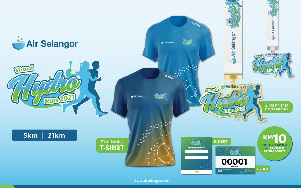 Air Selangor Virtual Hydro Run 2021