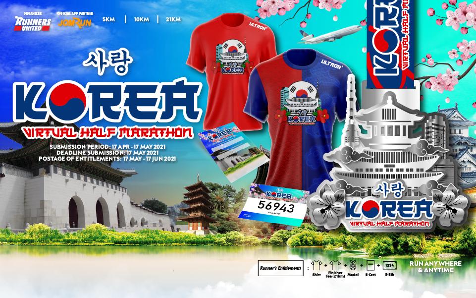 Korea Virtual Half Marathon
