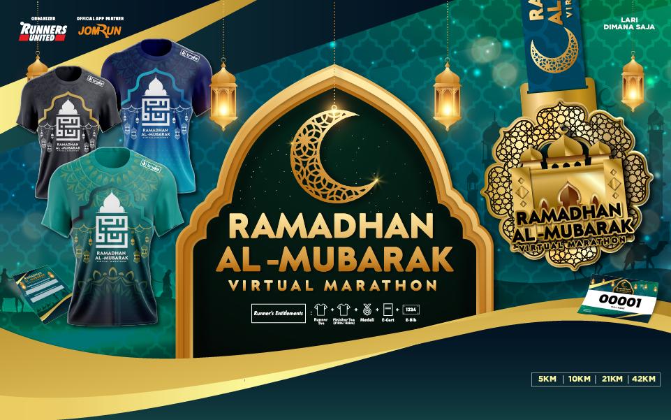 Ramadhan Al-Mubarak Virtual Marathon - Indonesia