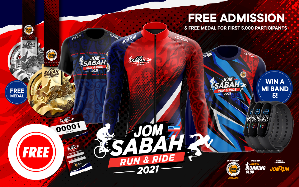 JomSabah Run & Ride 2021