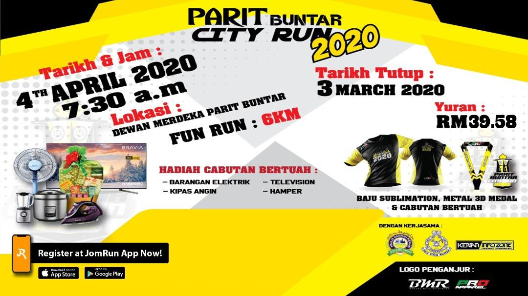 PARIT BUNTAR CITY RUN 2020