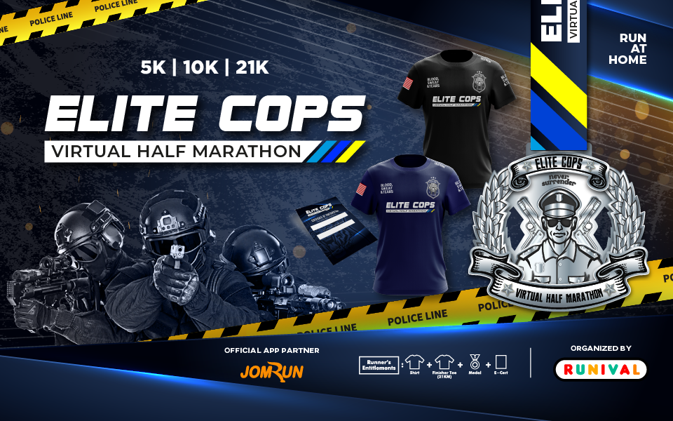 Elite Cops Virtual Half Marathon