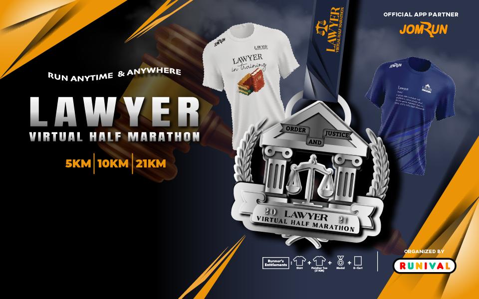 Lawyer Virtual Half Marathon