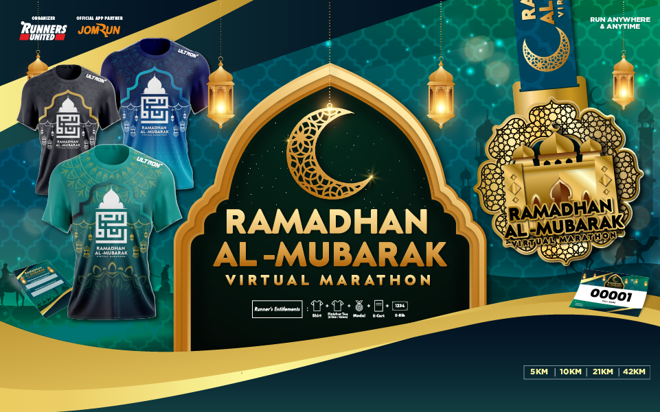 Ramadhan Al-Mubarak Virtual Marathon