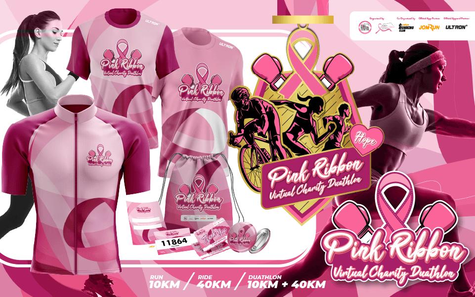 Pink Ribbon Virtual Charity Duathlon - Malaysia