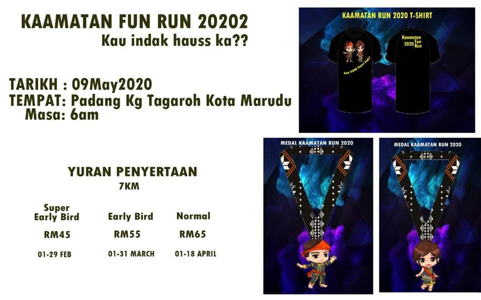 Kaamatan Fun Run 2020