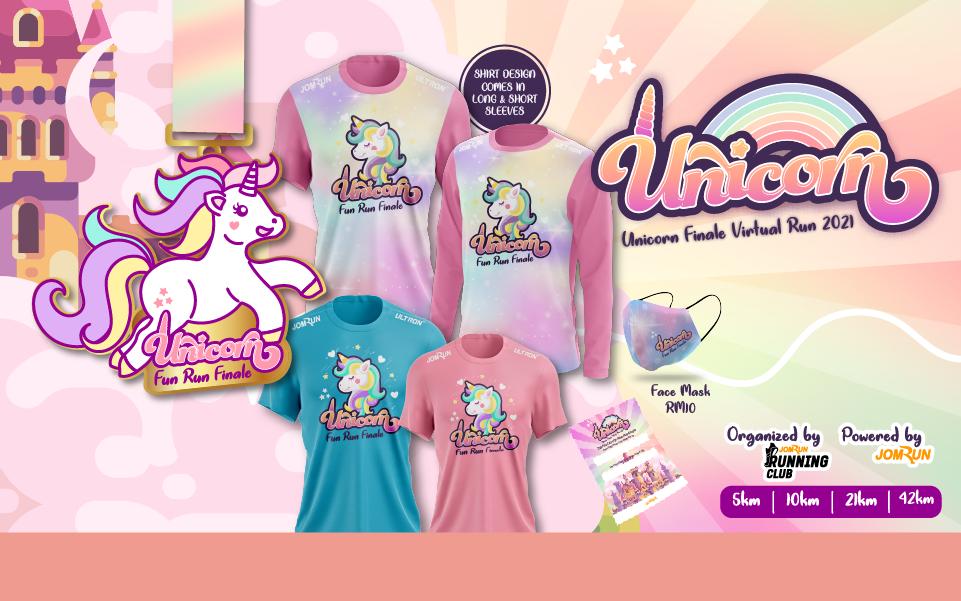 Unicorn Finale Virtual Run 2021