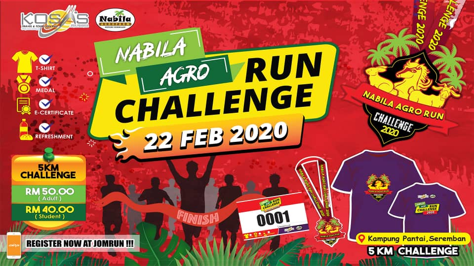 Nabila Agro Run Challenge
