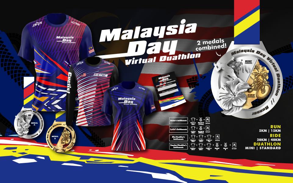 Malaysia Day Virtual Duathlon