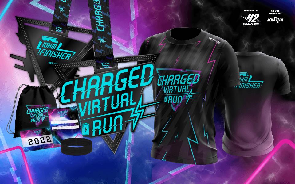 10KM Charged Virtual Run