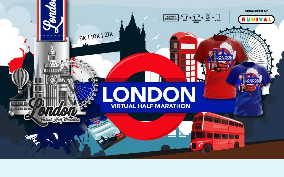 London Virtual Half Marathon