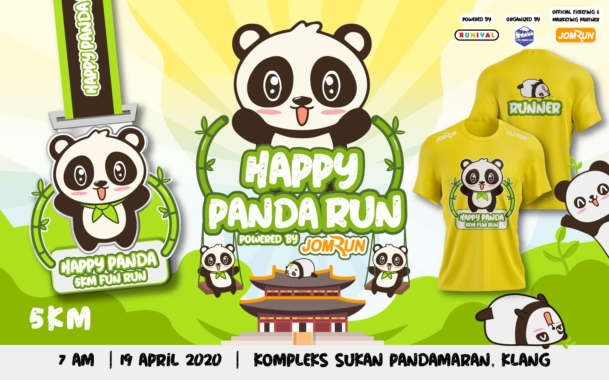 Klang Happy Panda 5KM Fun Run 2021