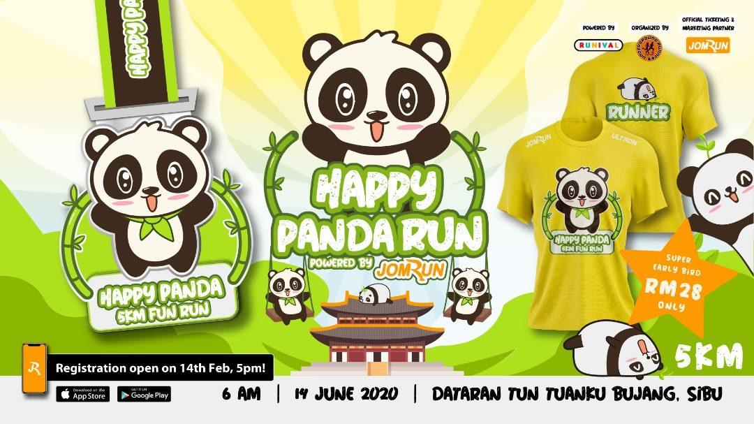Sibu Happy Panda 5KM Fun Run (EVENT CANCELLED)