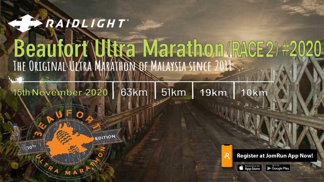 Beaufort Ultra Marathon (Race 2) #2020
