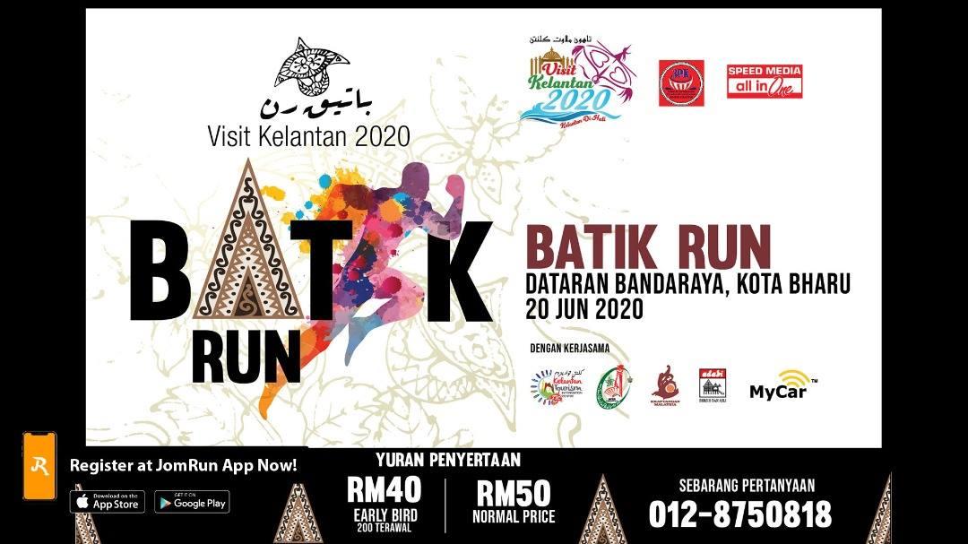 Visit Kelantan 2020 5km Batik Run