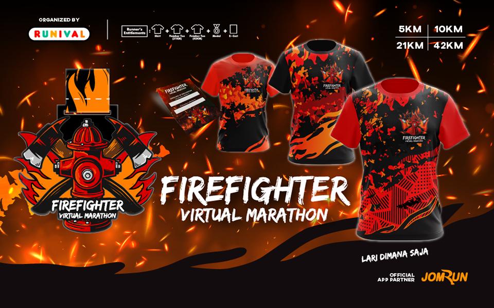 Firefighter Virtual Marathon - Indonesia