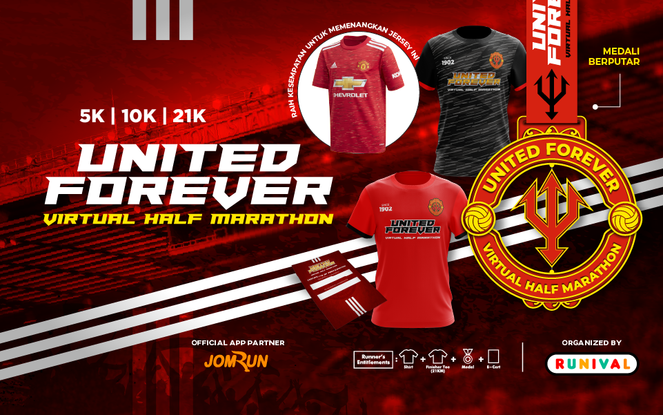 United Forever Virtual Half Marathon - Indonesia