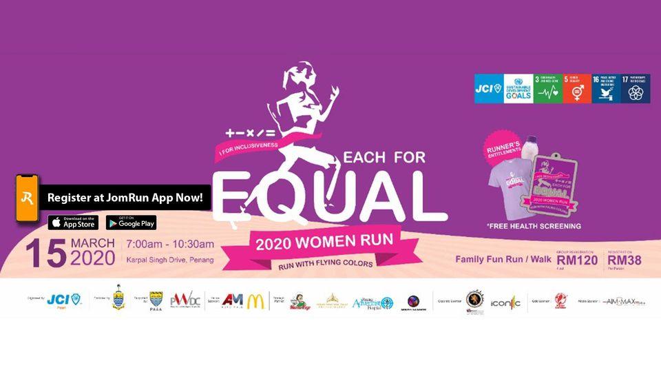 JCI Pearl 2020 Women Run - Run with Flying Colors