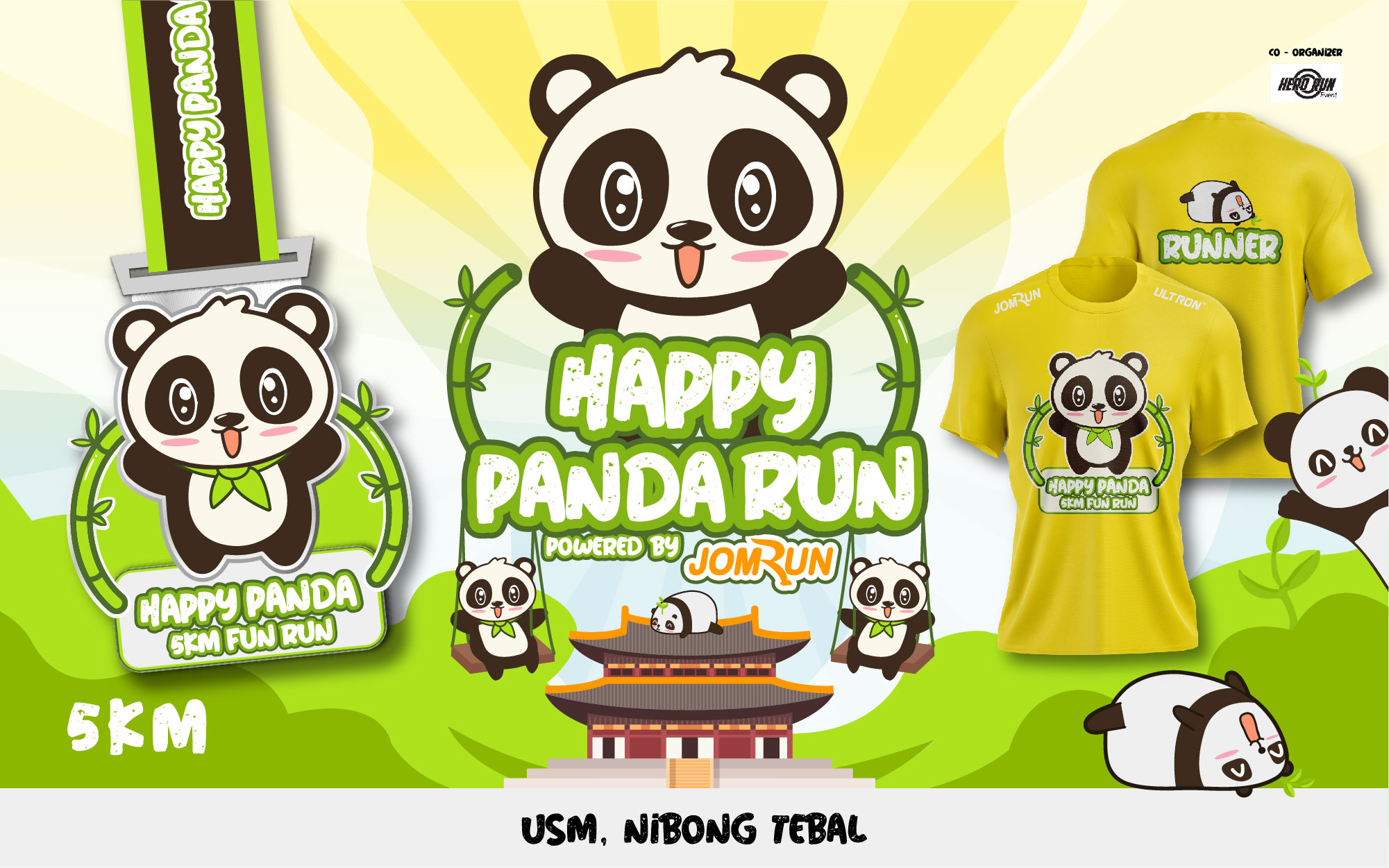 Nibong Tebal Happy Panda 5KM Fun Run (Event Cancelled)