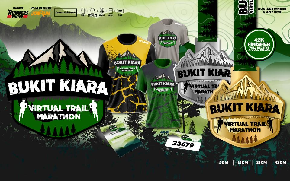 Bukit Kiara Virtual Trail Marathon