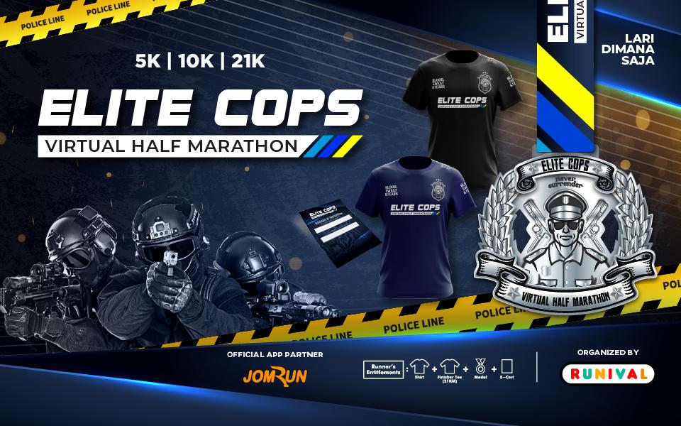 Elite Cops Virtual Half Marathon - Indonesia