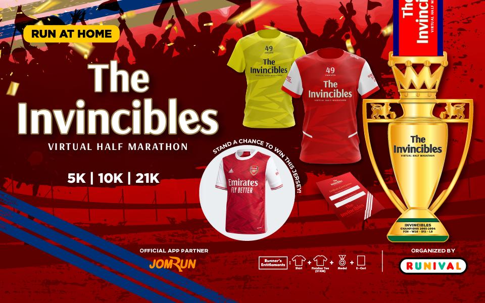 The Invincibles Virtual Half Marathon