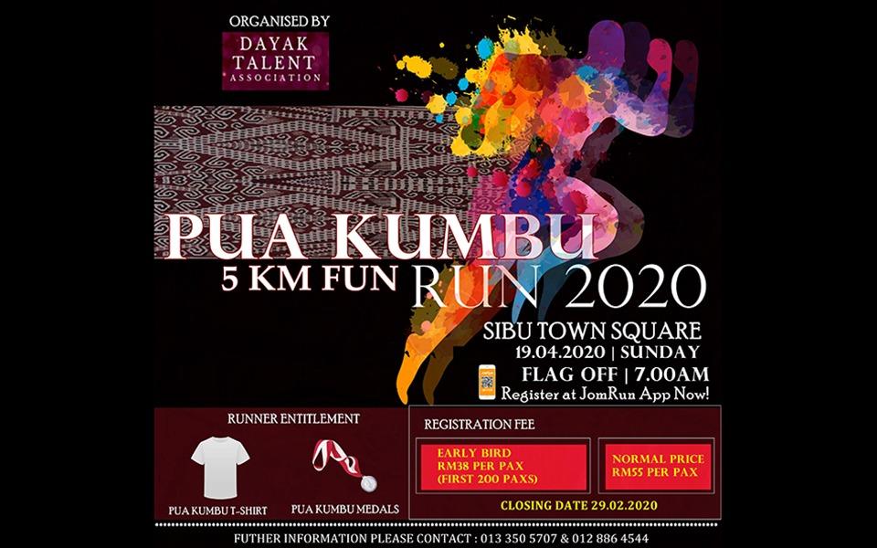 Pua Kumbu 5KM Fun Run 2020