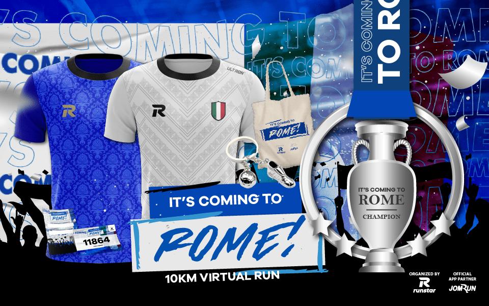 It's Coming to Rome! 10KM Virtual Run