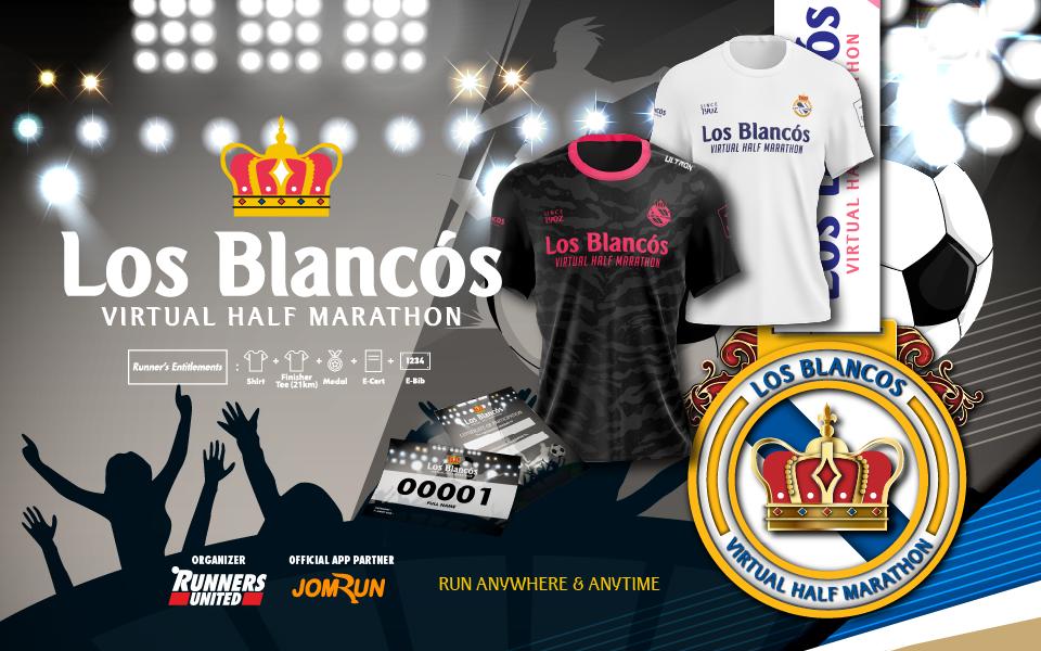 Los Blancos Virtual Half Marathon