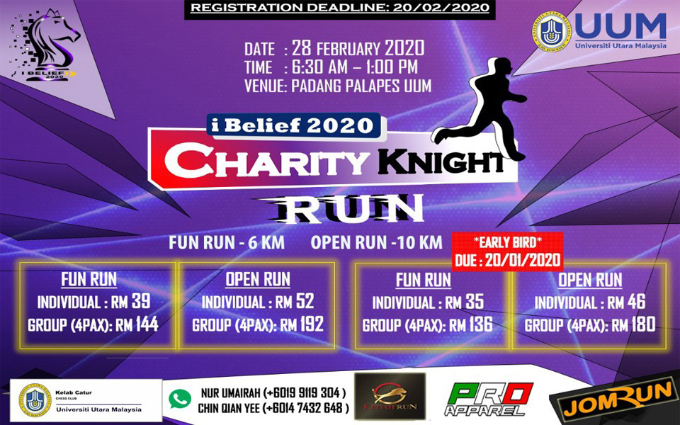 iBelief 2020-Charity Knight Run