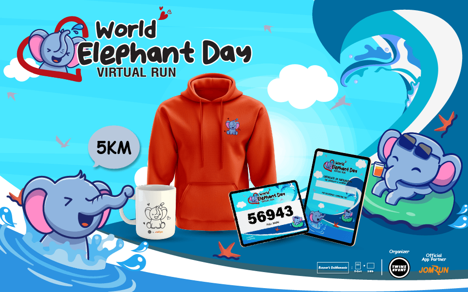 World Elephant Day Virtual Run