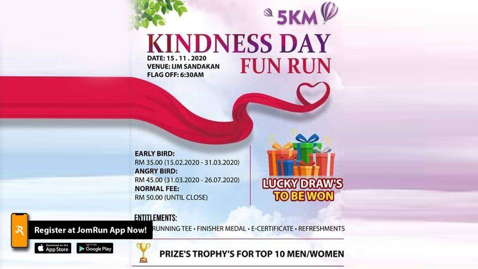Kindness Day Fun Run