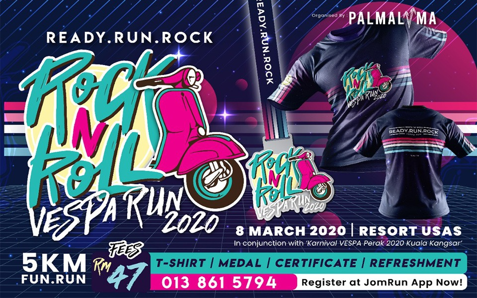 Rock N Roll Vespa Run 2020