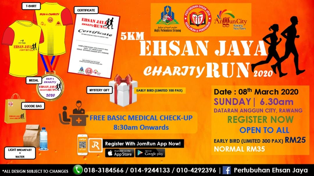 5KM Ehsan Jaya Charity Run 2020