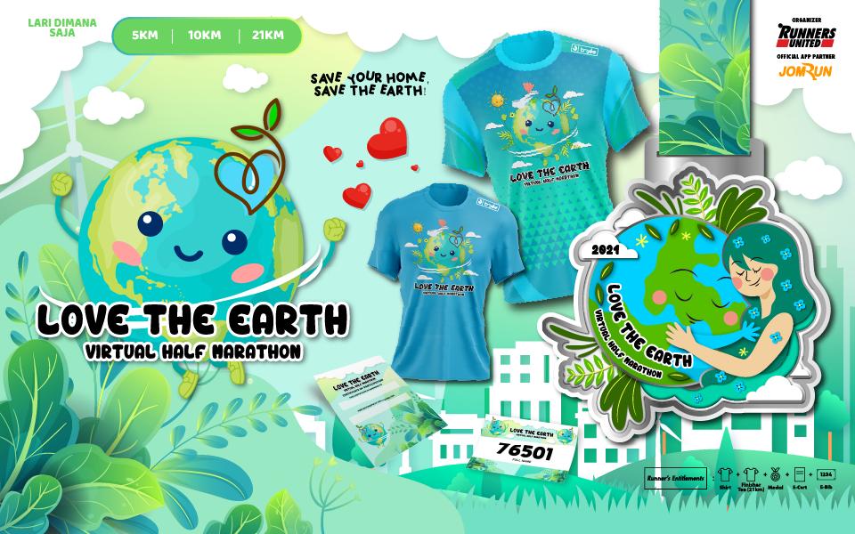 Love The Earth Virtual Half Marathon - Indonesia