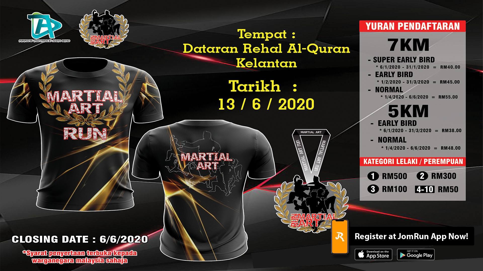 Kelantan Martial Art Run