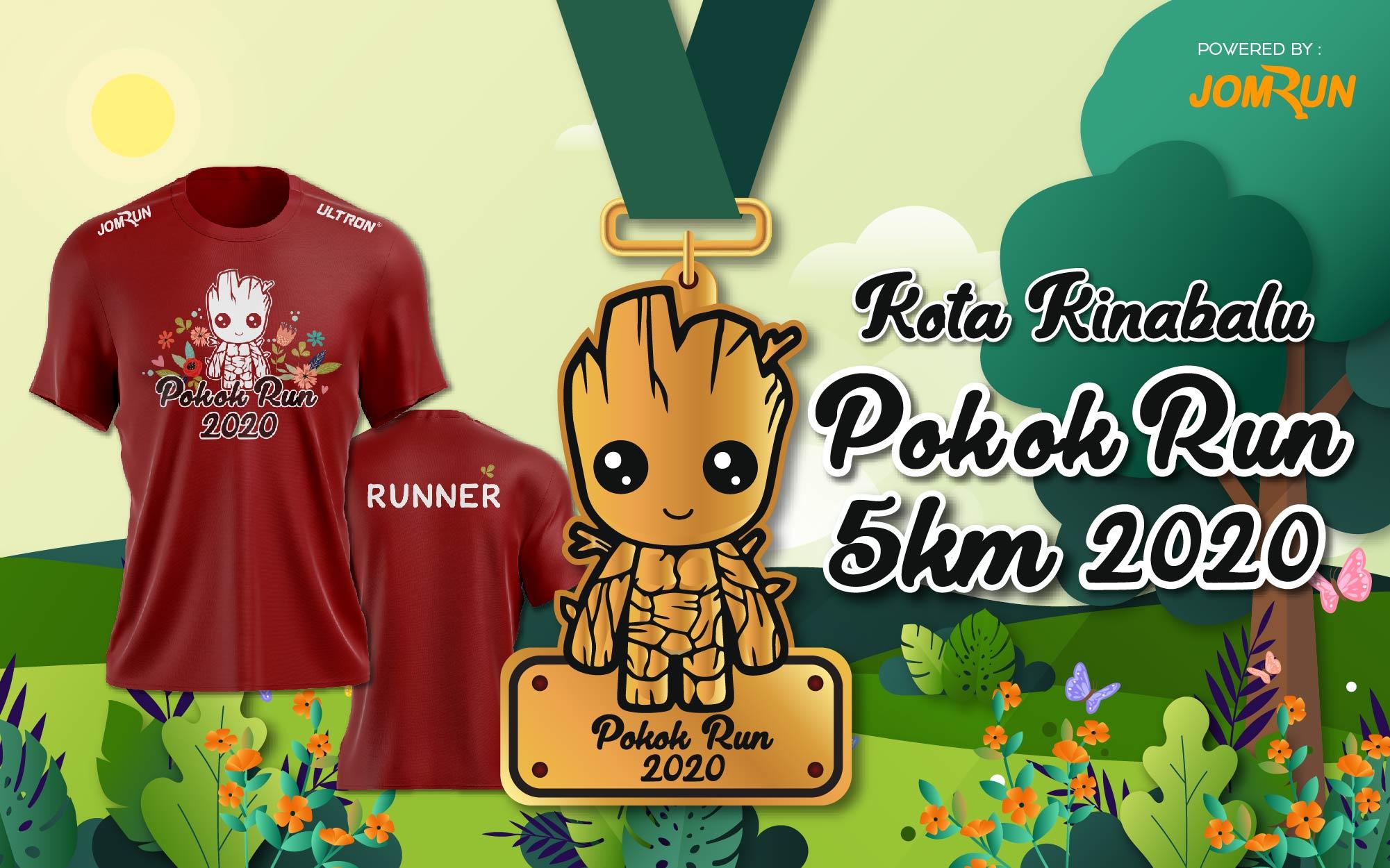 Kota Kinabalu Pokok Run 5KM 2020 (Event cancelled)