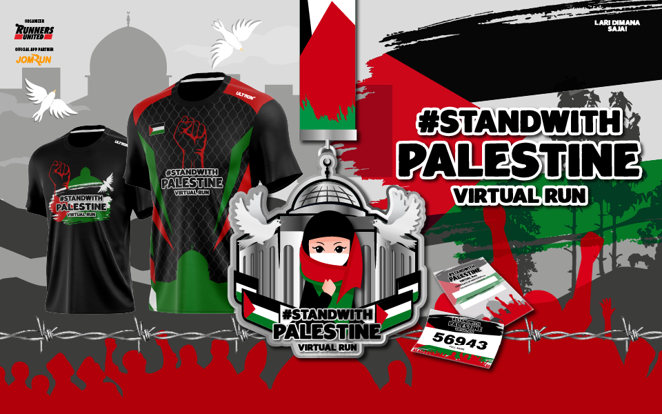 Stand With Palestine Virtual Run - Indonesia